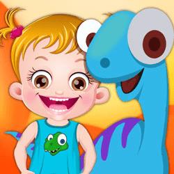 Baby Hazel Dinosaur Park
