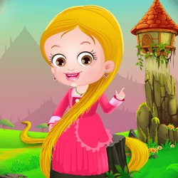 Baby Hazel Rapunzel Mini Games