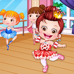 Baby Hazel Ballet Dressup